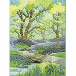 Derwentwater Designs Long Stitch Kit - Spring Walk