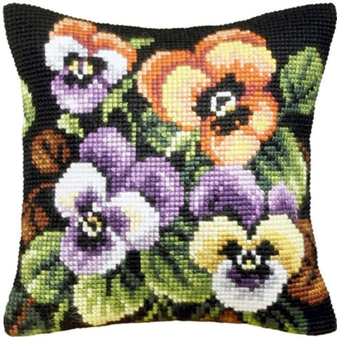 Orchidea Tapestry Kit - Pansies
