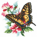 Magic Needle Cross Stitch - Swallowtail Butterfly