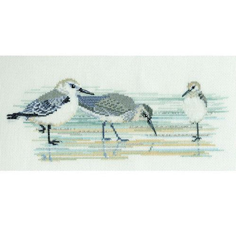 Derwentwater Designs Birds Cross Stitch Kit - Waders