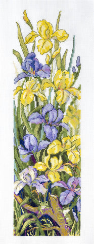 Merejka Cross Stitch Kit - Frogs In The Flowers