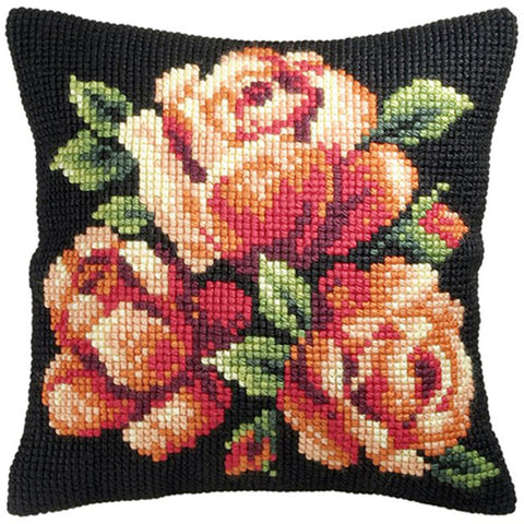 Orchidea Tapestry Kit - Orange Roses
