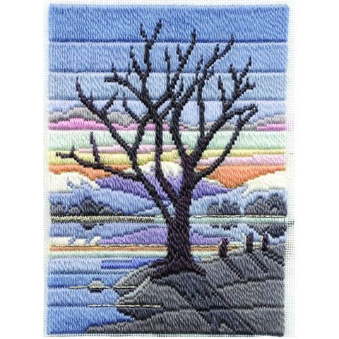 Derwentwater Designs Long Stitch Kit - Winter Evening