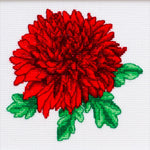VDV Cross Stitch Kit - Chrysanthemum