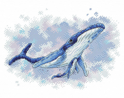 MP Studia Cross Stitch Kit - Deep Sea Life