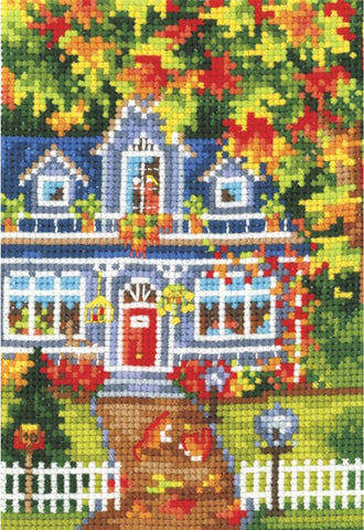 Andriana Cross Stitch kit - Seasons Autumn