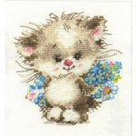 Alisa Cross Stitch Kit - To My Favourite Cat