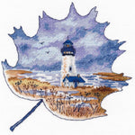 Oven Cross Stitch Kit - Yaquina Head Lighthouse