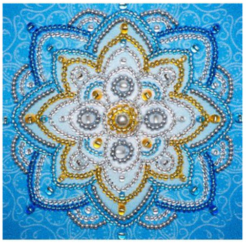 VDV Free Form Bead Embroidery Kit - Financial Independence