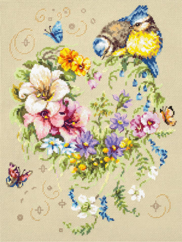 Magic Needle Cross Stitch Kit - Melody Of Your Heart