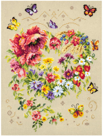 Magic Needle Cross Stitch Kit - Shine of Your Heart