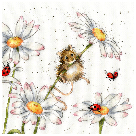 Bothy Threads Cross Stitch Kit - Daisy Mouse