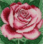 VDV Bead Embroidery Kit - Rose