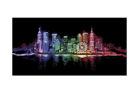 Andriana Cross Stitch Kit - Night Town