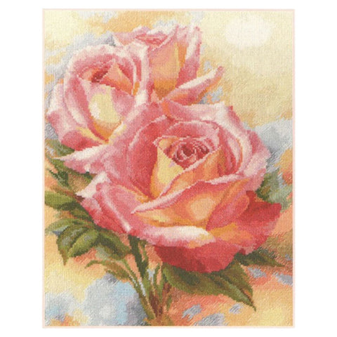 Alisa Cross Stitch Kit - Pink Dreams