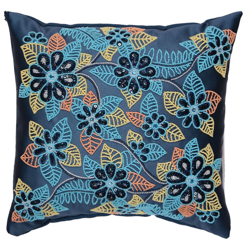 VDV Bead Embroidery Cushion Cover Kit - Floral