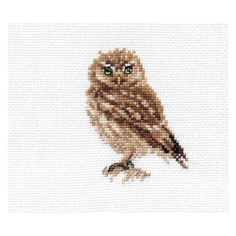 Alisa Cross Stitch Kit - Owl