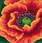 VDV Bead Embroidery Kit - Flaming Flower