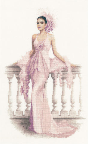 Heritage Crafts Elegance Cross Stitch Kit - Gabriella (Evenweave)
