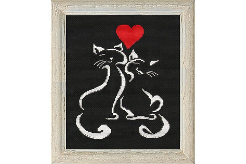 Oven Cross Stitch Kit - L'Amour