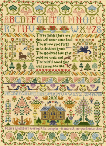 Bothy Threads Cross Stitch Kit - Three Things