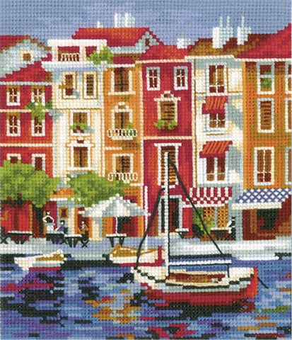 Andriana Cross Stitch kit - Quiet Harbour