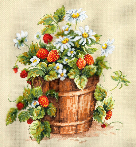Magic Needle Cross Stitch Kit - Taste of Summer