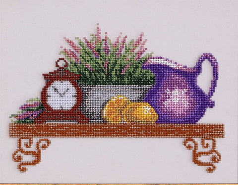 VDV Bead Embroidery Kit - Shelf with Lavender