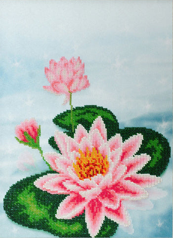 VDV Bead Embroidery Kit - Water Lily