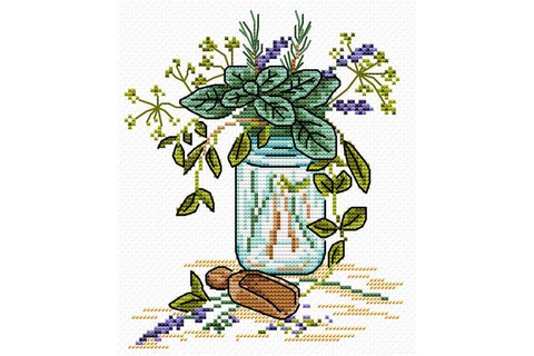 MP Studia Cross Stitch Kit - Provence Fragrance