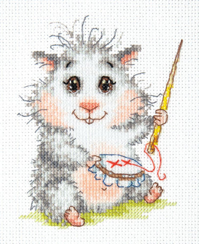 Magic Needle Cross Stitch Kit - Wonderful Needle