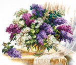 Magic Needle Cross Stitch - The Scent of Lilacs