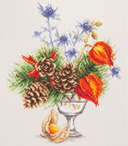 Magic Needle Cross Stitch - Winter Bouquet