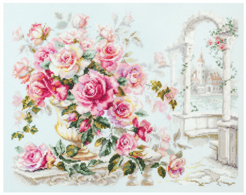 Magic Needle Cross Stitch Kit - Roses for the Duchess