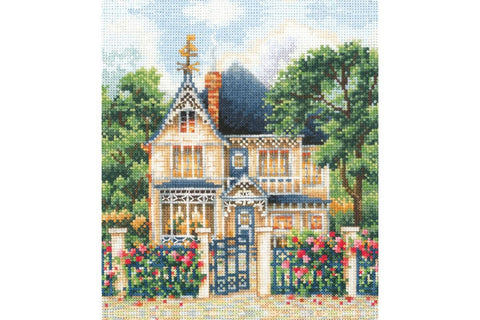 Andriana Cross Stitch Kit - Country House