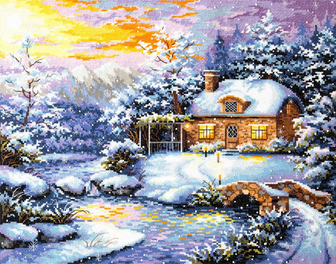 Magic Needle Cross Stitch Kit - Winter's Tale