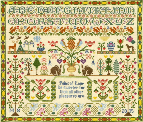 Bothy Threads Cross Stitch Kit - Pains of Love