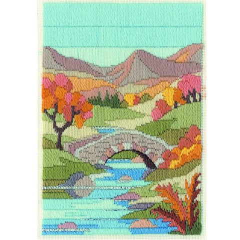 Derwentwater Designs Long Stitch Kit - Mountain Autumn