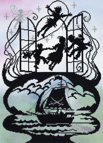 Bothy Threads Cross Stitch Kit - Peter Pan