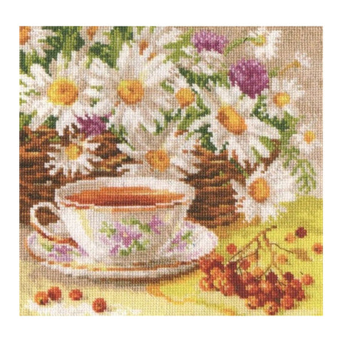 Alisa Cross Stitch Kit - Afternoon Tea