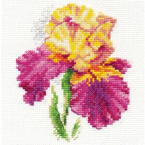 Alisa Cross Stitch Kit - Iris
