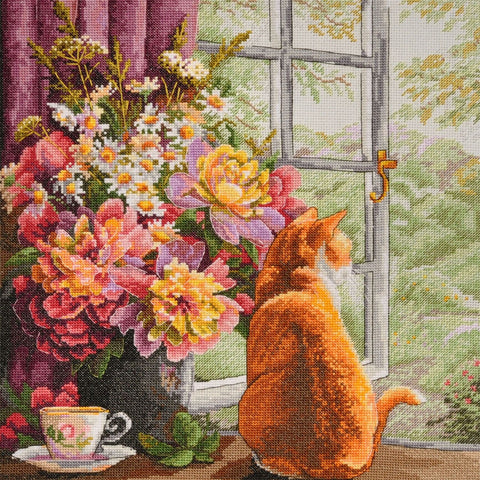 Merejka Cross Stitch Kit - Summer Afternoon