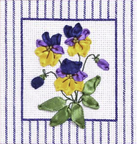 Panna Cross Stitch and Ribbon Embroidery Kit - The Breath of Spring