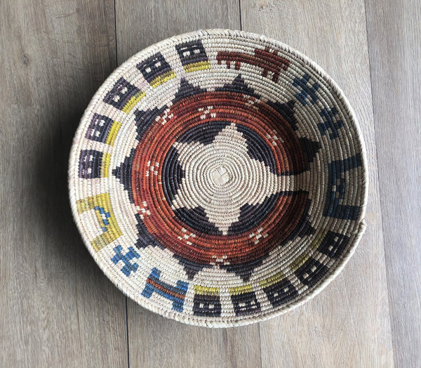 Woven Basket Wall Decor