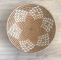 Set of 5 African Sisal Wall Baskets