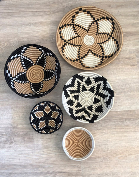 Set of 5 Wall Baskets