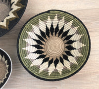 African Wall Hanging Basket Set