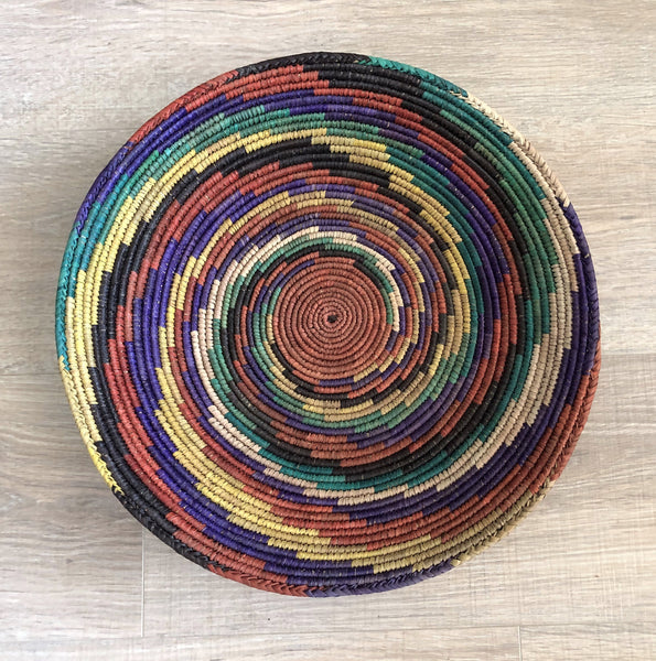 "14 1/2"" Woven Basket For Wall or Table"