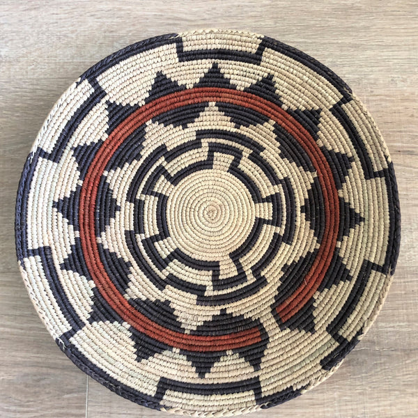 Woven Wall or Tabletop Basket