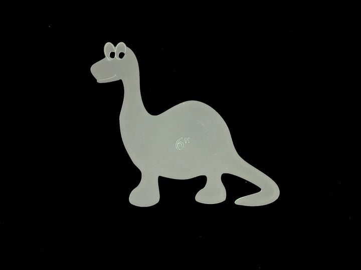A FUN DINOSAUR SEWING/CRAFT TEMPLATE from 6cm
